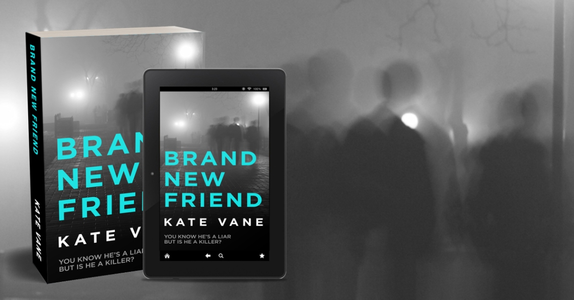 Brand New Friend by Kate Vane promo graphic