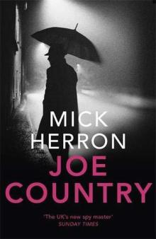 joe country mick herron