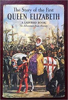 queen elizabeth ladybird