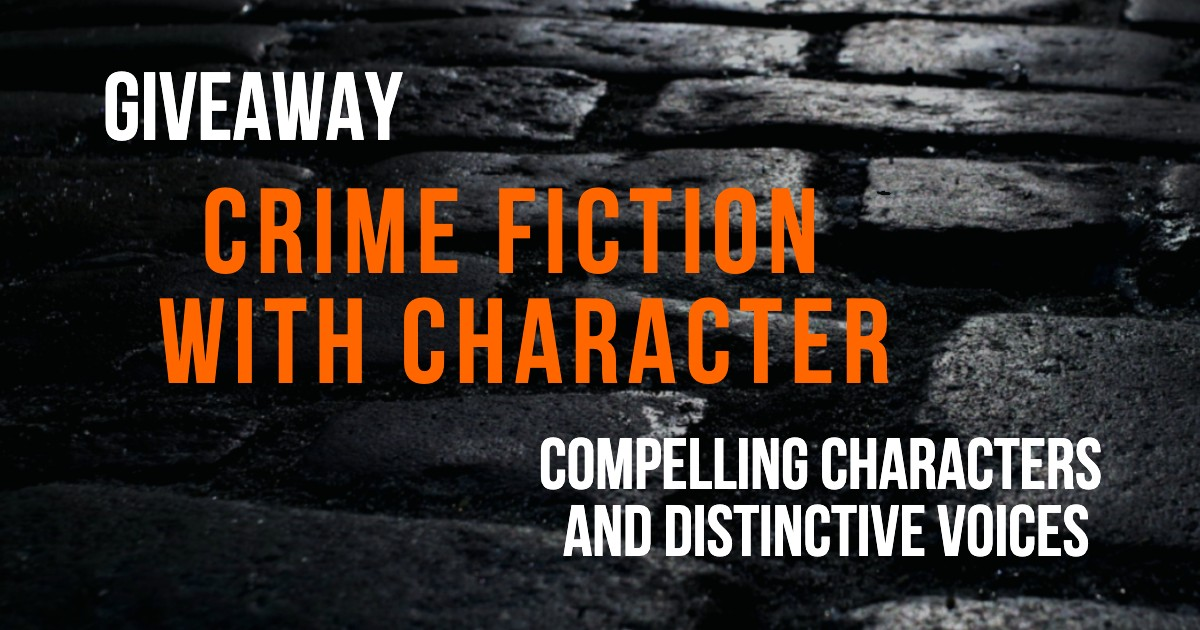 crime fiction with character giveaway twitter